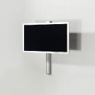 Der TV Wandhalter Solution Art 128 ist für kleine Räume geeignet.
