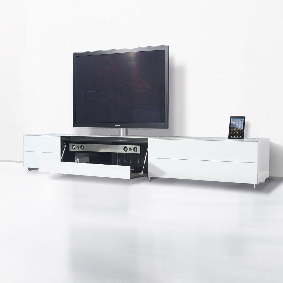 spectral hifi tv mobel mit docking funktion fur apple gerate
