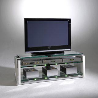 Das Modell Carisma von Schroers&Schroers ist ein TV Hifi Möbel wo die Werkstoffe Holz, Glas und Stahl perfekt vereint sind.