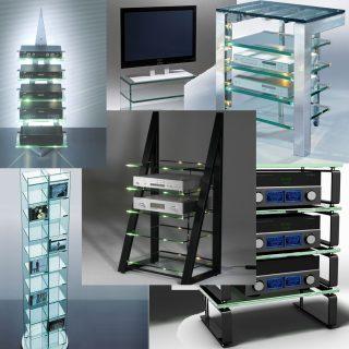 Schroers&Schroers bietet außergewöhnliches Design im Hifi-TV-Möbel Bereich.