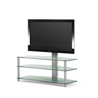 Das Modell Panel 181 ist ein TV Regal mit 3 Glasböden und einer TV Drehhalterung.