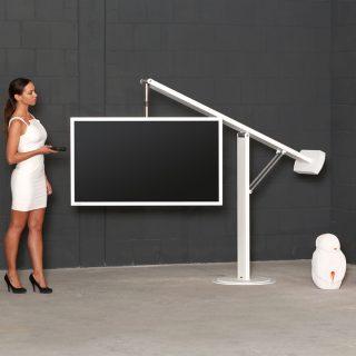 Das Modell Balance Art 131 ist eine der exklusiven Innovation unter den TV Halterungen von Wissmann Raumobjekte.