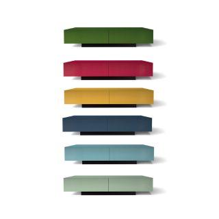 Wir bieten Ihnen eine bunte Auswahl an Farben für ihr TV Möbel.
