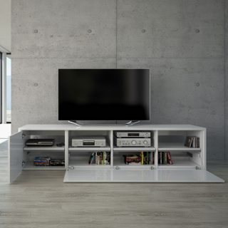 Das Modell MK1 von Schnepel ist ein Lowboard für Hifi, TV und andere Accessories.