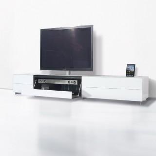 Spectral Hifi TV Möbel mit Docking Funktion für Apple Geräte.