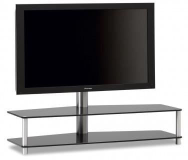 Panel ist ein Hifi TV Möbel mit zwei Glasböden und einer TV Drehhalterung. Online bestellen, wir beraten Sie gerne telefonisch.