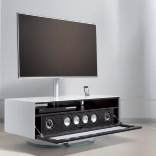 Soundbarmöbel mit TV Drehhalter von Spectral.