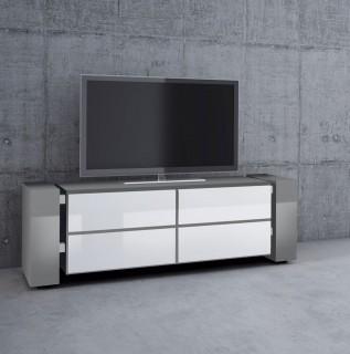 Geschlossenes TV Möbel mit vier Schubladen der Firma Schnepel.