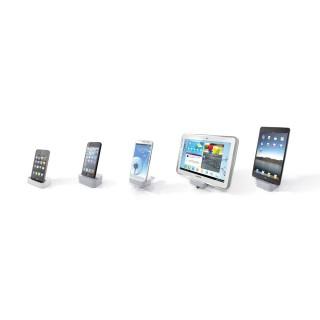 Die Spectral Docking Funktion von I-Phone bis I-Pad von Apple. Alles geladen.