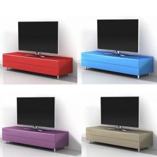 Ein TV Hifi Möbel der Zeitlosen. Geschlossenes Fernsehmöbel mit Möglichkeit der Soundbarintegration.