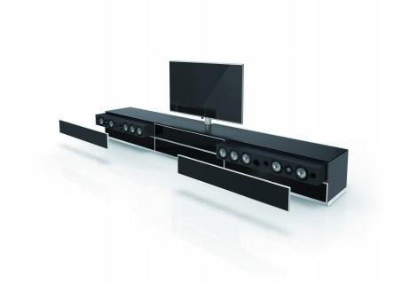 Fernsehmöbel Catena von Spectral mit Soundbar.