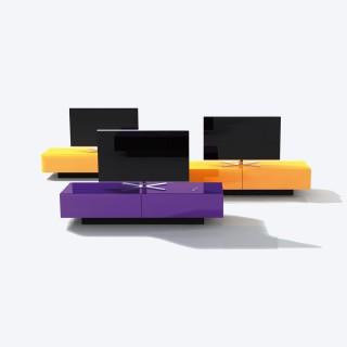 Spectral Brick das Lowboard mit 2000 Farbvariationen.