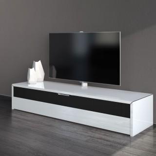 Fernsehmöbel mit Klappe in vielen Farben und Dekore auch mit LED Beleuchtung erhältlich