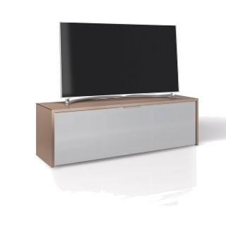 Hifi TV Möbel von Schnepel bei diesem Lowboard ist alles drin und oben drauf Fernseher und Soundbar MK Sound