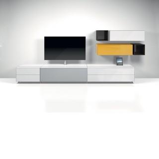 Dieses Hifi TV Möbel können Sie sich nach ihren Wünschen sowie farblich sowohl auch von den einzelnen Möbelelemente zusammenstellen