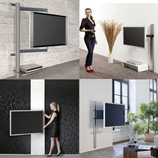 TV Wandhalter von dem Hersteller Wissmann Raumobjekte, funktional und einzigartig im Design.