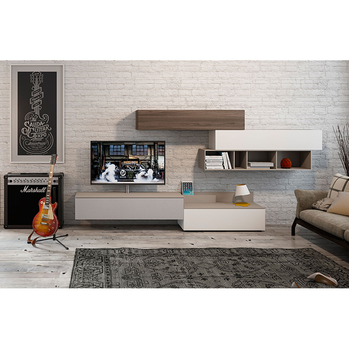 tv hifi lowboard spectral lowboard cocoon brick gebraucht with tv hifi lowboard gallery of. Black Bedroom Furniture Sets. Home Design Ideas