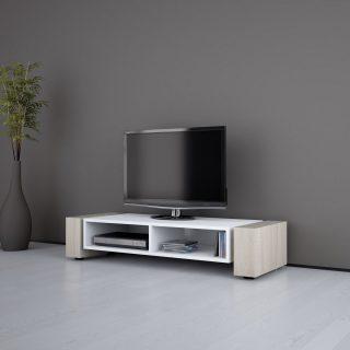 Offenes TV Möbel mit zwei Fächer für Audiogeräte von Schnepel.