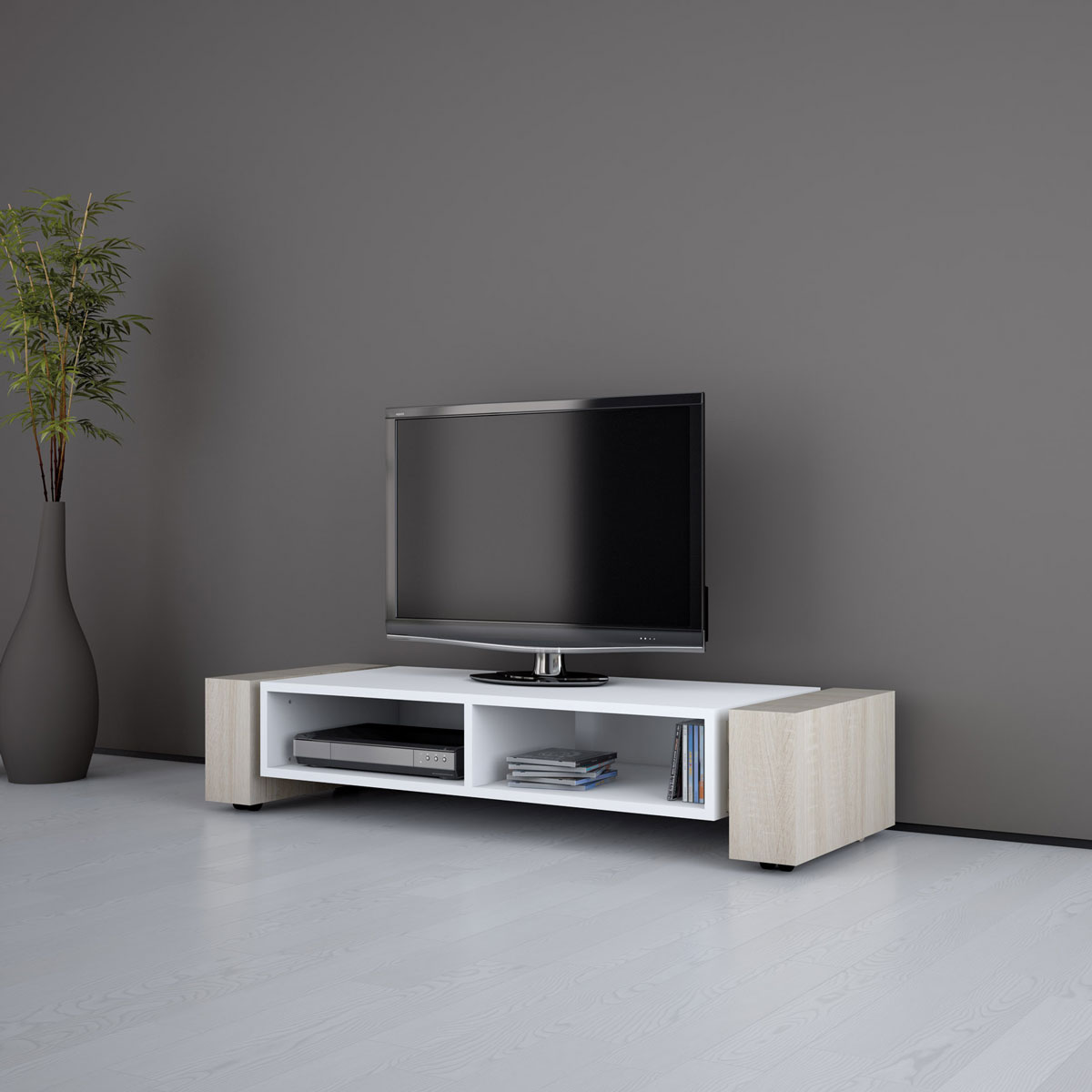 Sideboard hifi anlage repositio tv hifi sideboard for Sideboard offen