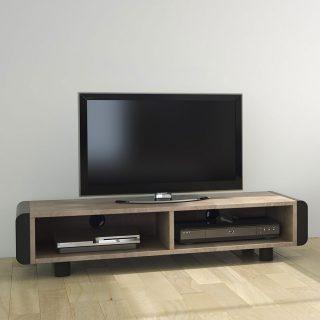 TV Lowboards. Modell Elf L 120-128,2x28,6x42,0 cm (BxHxT), offen von Schnepel.