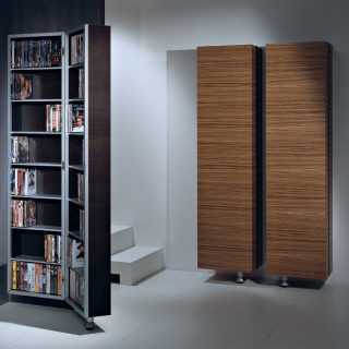 cd dvd aufbewahrung von vismara tv m bel und hifi m bel. Black Bedroom Furniture Sets. Home Design Ideas