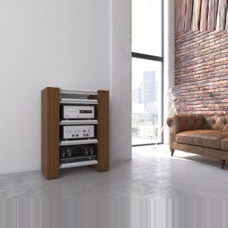 Ein Hifi Regal für ihre wertvollen Audiogeräte.