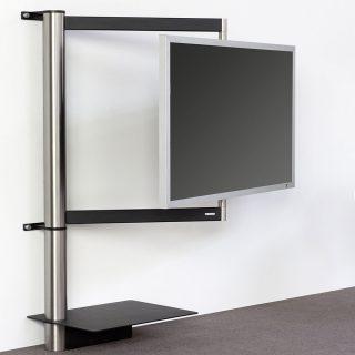 Ein TV Wandhalter mit Design und Technik. Modell Solution Art 112 von Wissmann Raumobjekte.
