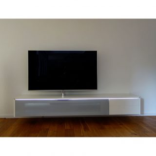 Jetzt Neu! Ein TV Lowboard in der gewünschten RAL Farbe konfigurieren. Modell LB1-Sound von Schnepel.