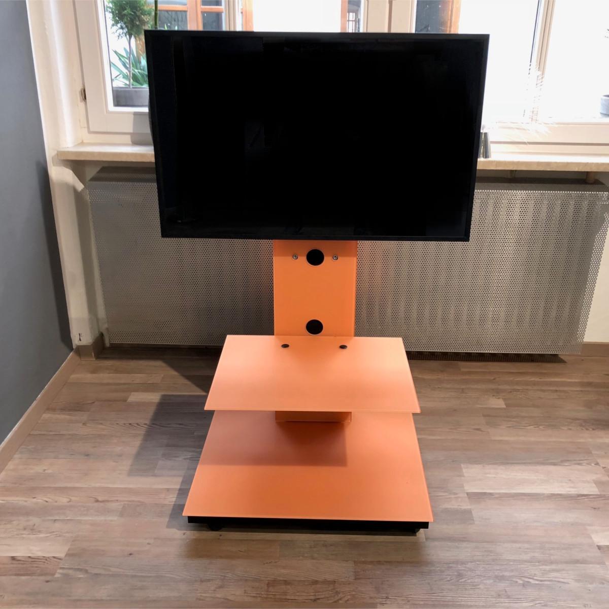 hifi tv möbel, offenes günstiges Aktionsmodell. Rollbar von Spectral.