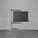 Wissmann Ceiling Art 116 TV Deckenhalter Schienen neigbar Kabelführung unsichtbar Soundbar Halterung drehbar 360° für TV's bis 70 Zoll