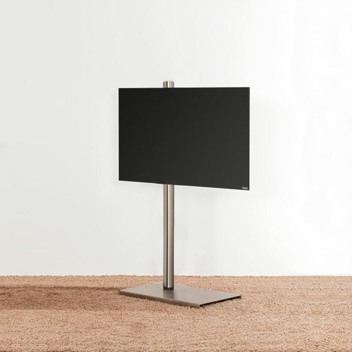 Model Column art TV Ständer, schwenkbar, rollbar. Von Wissmann Raumobjekte.