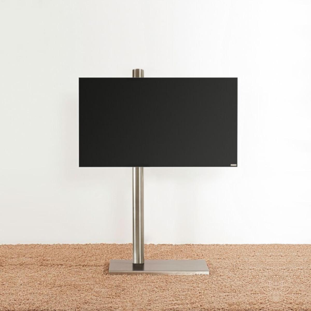 Model Column art. TV Ständer, schwenkbar und rollbar. Von Wissmann Raumobjekte