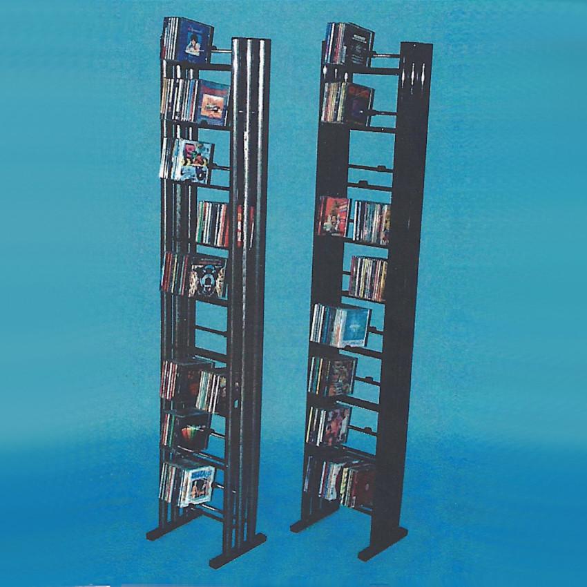 CD DVD Archiv, Aufbewahrungsmöglichkeit für Compact Disc, Ständer, Stand, zum archivieren ihrer CD`s und DVD`s, Board, Rack,