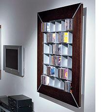 hifi tv vismara design frame 120 cd dvd wandregal. Black Bedroom Furniture Sets. Home Design Ideas