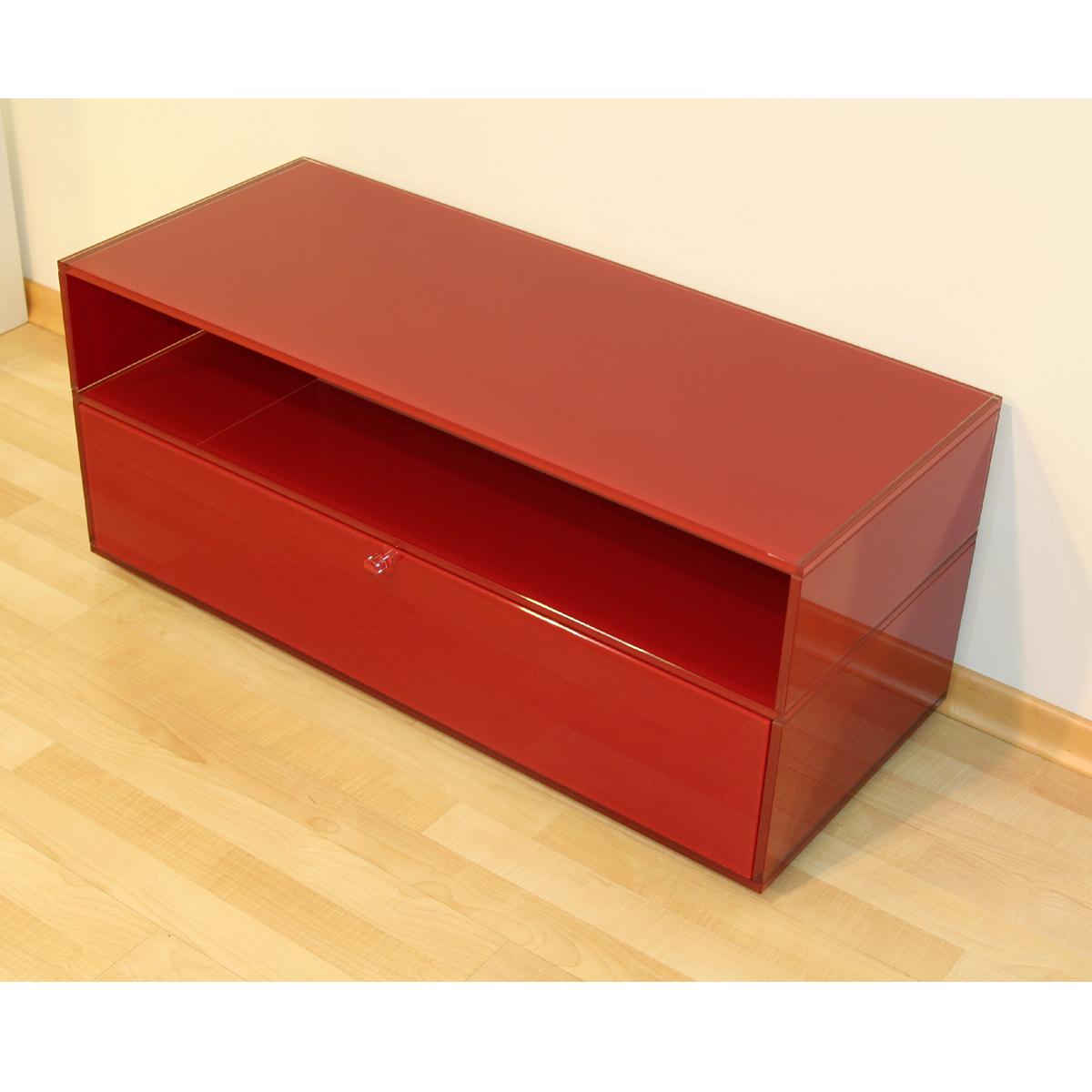 glass concept stereo rack 1 hifi rack bei hifi tv. Black Bedroom Furniture Sets. Home Design Ideas