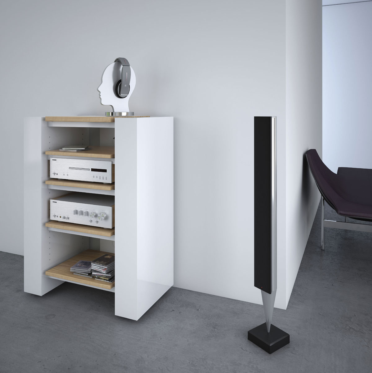 schnepel x linie x hifi rack bei hifi tv. Black Bedroom Furniture Sets. Home Design Ideas