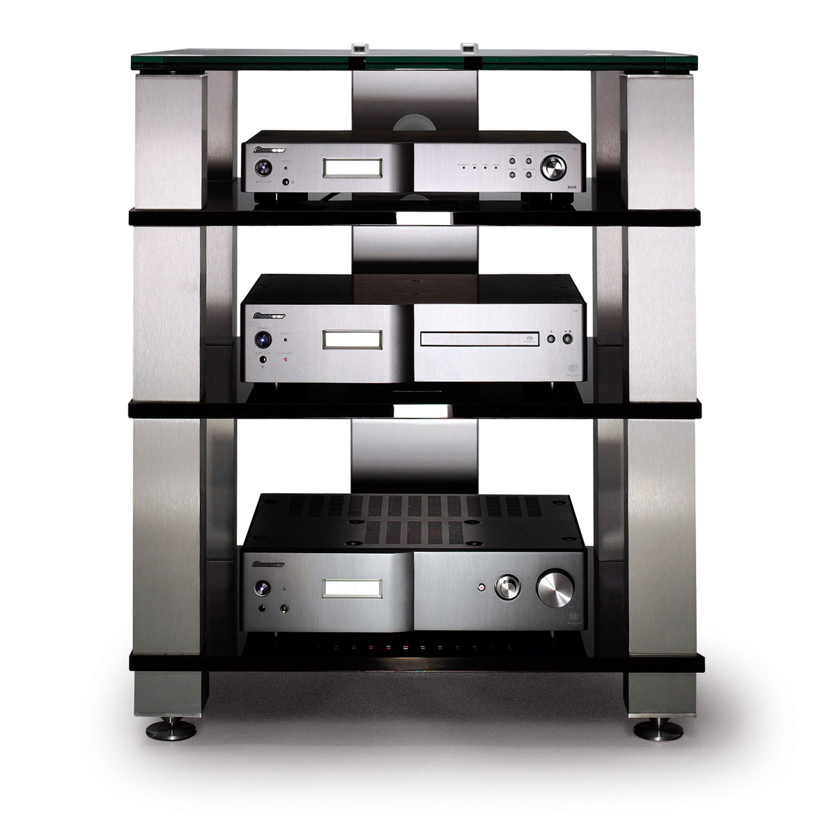 Tv Hifi Rack : hifi m bel phonom bel hifi racks hifi regale audio ~ Michelbontemps.com Haus und Dekorationen