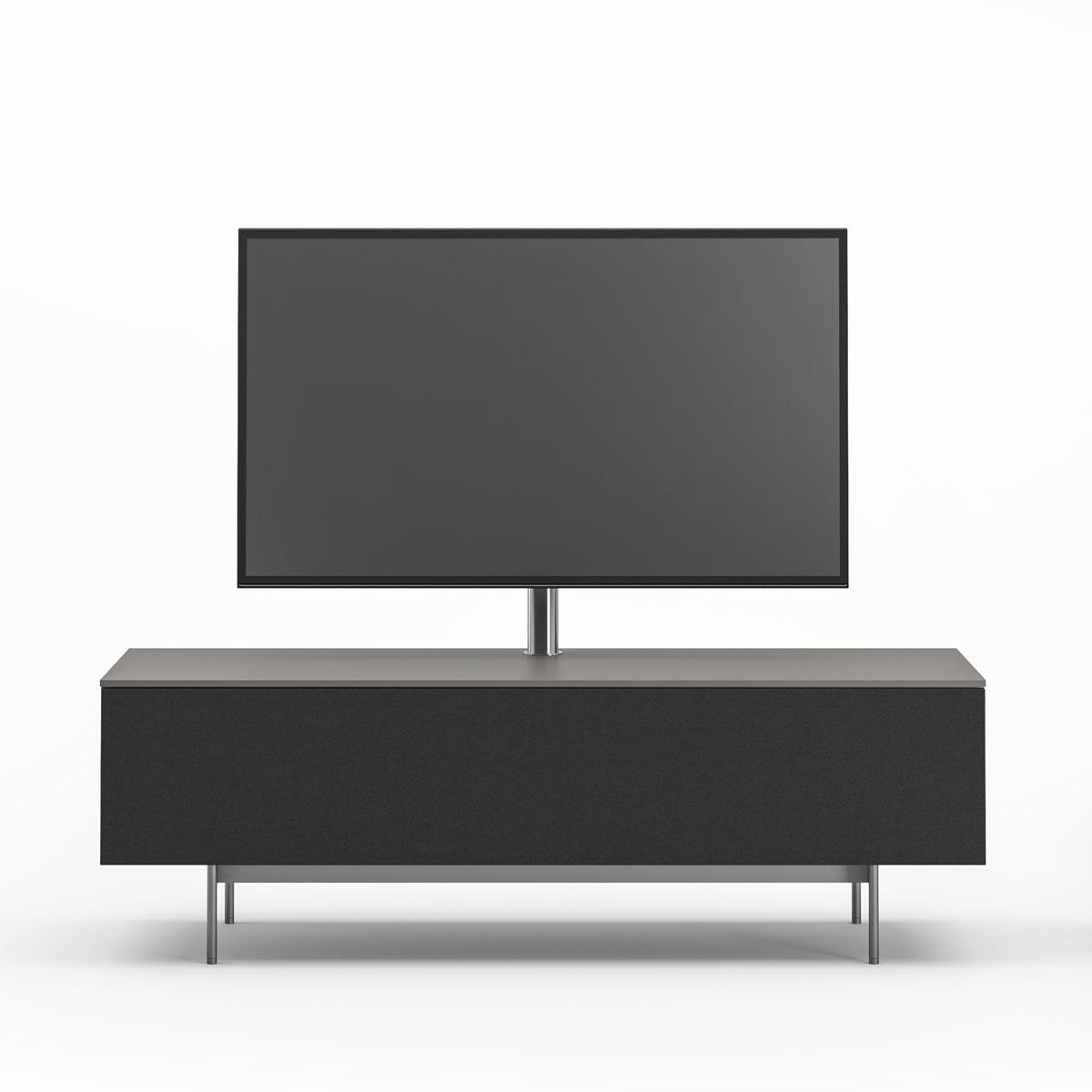 Geschlossenes Hifi TV Möbel. Mit modularer Funktion. Stellen Sie ihr Fernsehmöbel nach ihren Vorstellungen zusammen. Modell Next von Spectral.