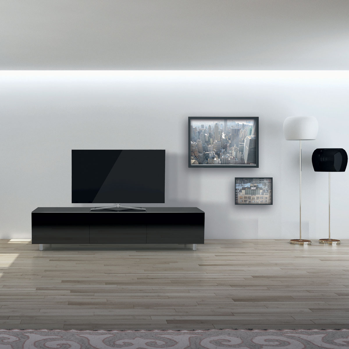 fernseher sideboard stunning casa padrino luxus designer aluminium fernseher kommode sideboard. Black Bedroom Furniture Sets. Home Design Ideas
