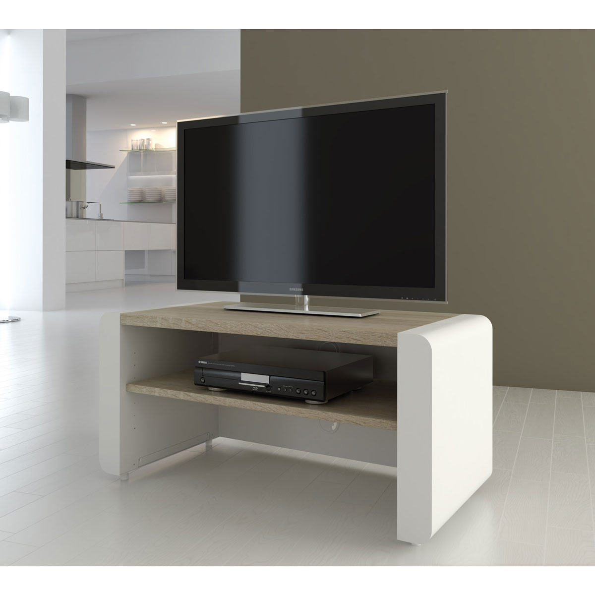 schnepel elf 120 tv schrank sideboard tv rack board m bel ebay. Black Bedroom Furniture Sets. Home Design Ideas