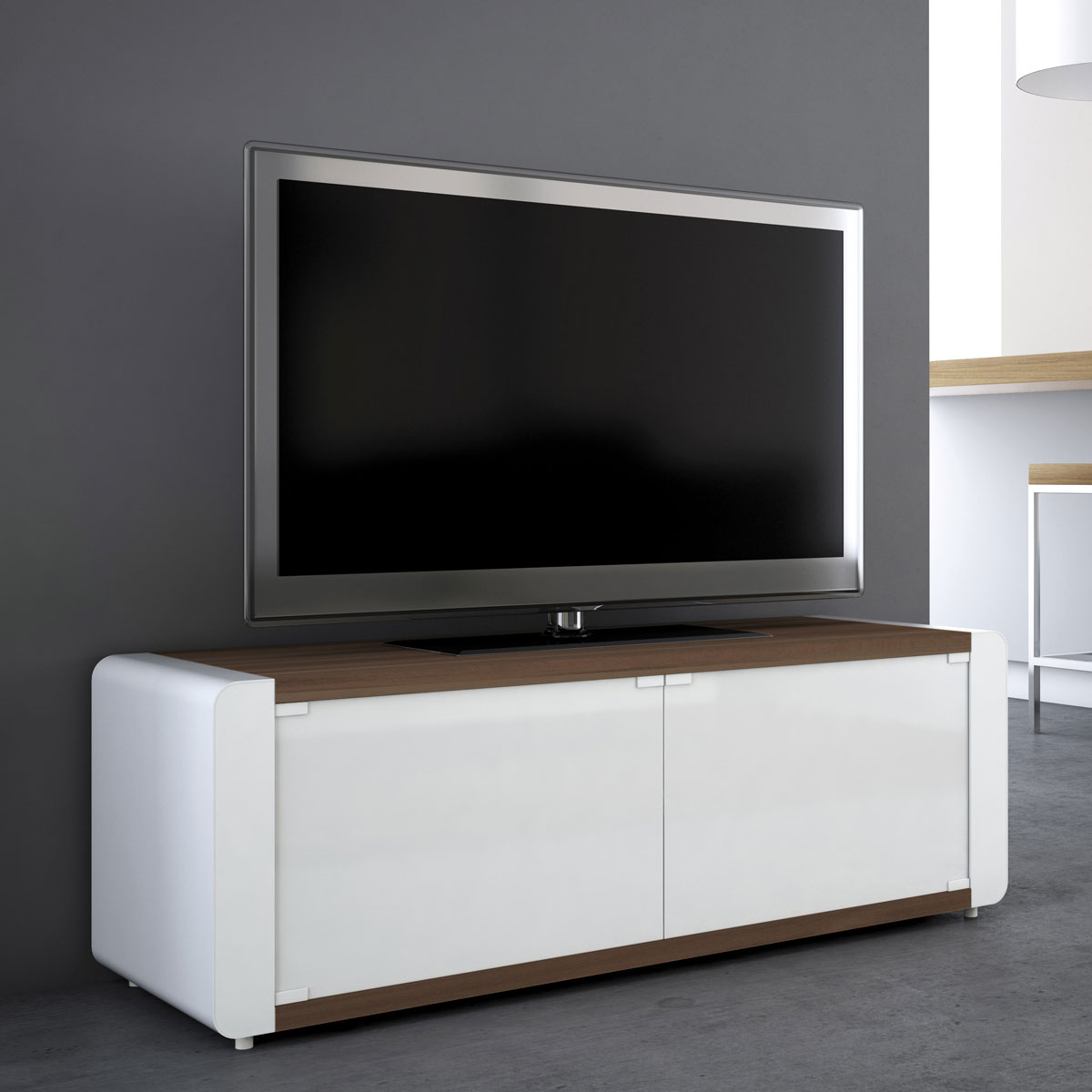 tv schrank rollbar inspirierendes design. Black Bedroom Furniture Sets. Home Design Ideas