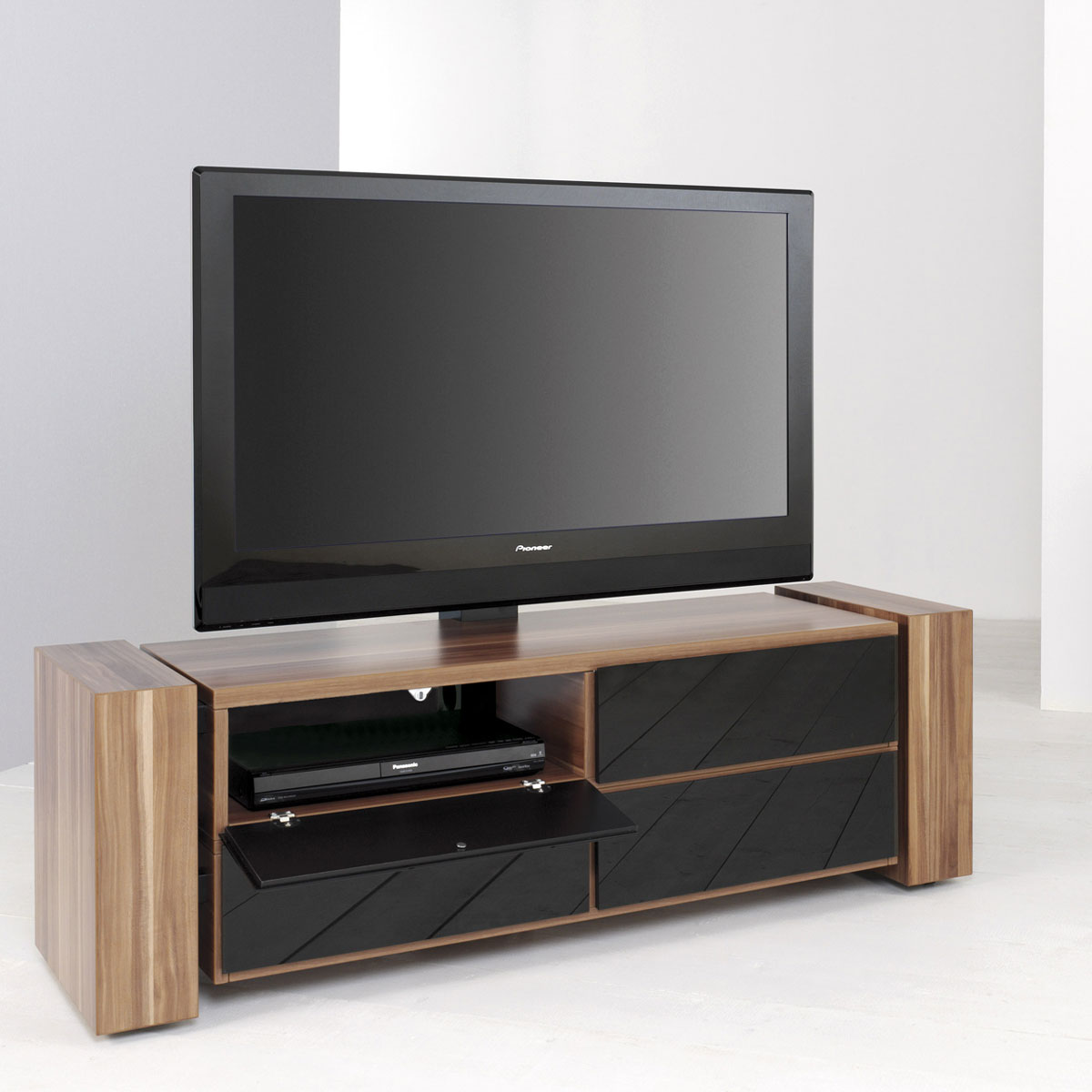 rack schrank cheap fabulous homcom tv lowboard board schrank tisch regal holz schwarz u eur ue. Black Bedroom Furniture Sets. Home Design Ideas