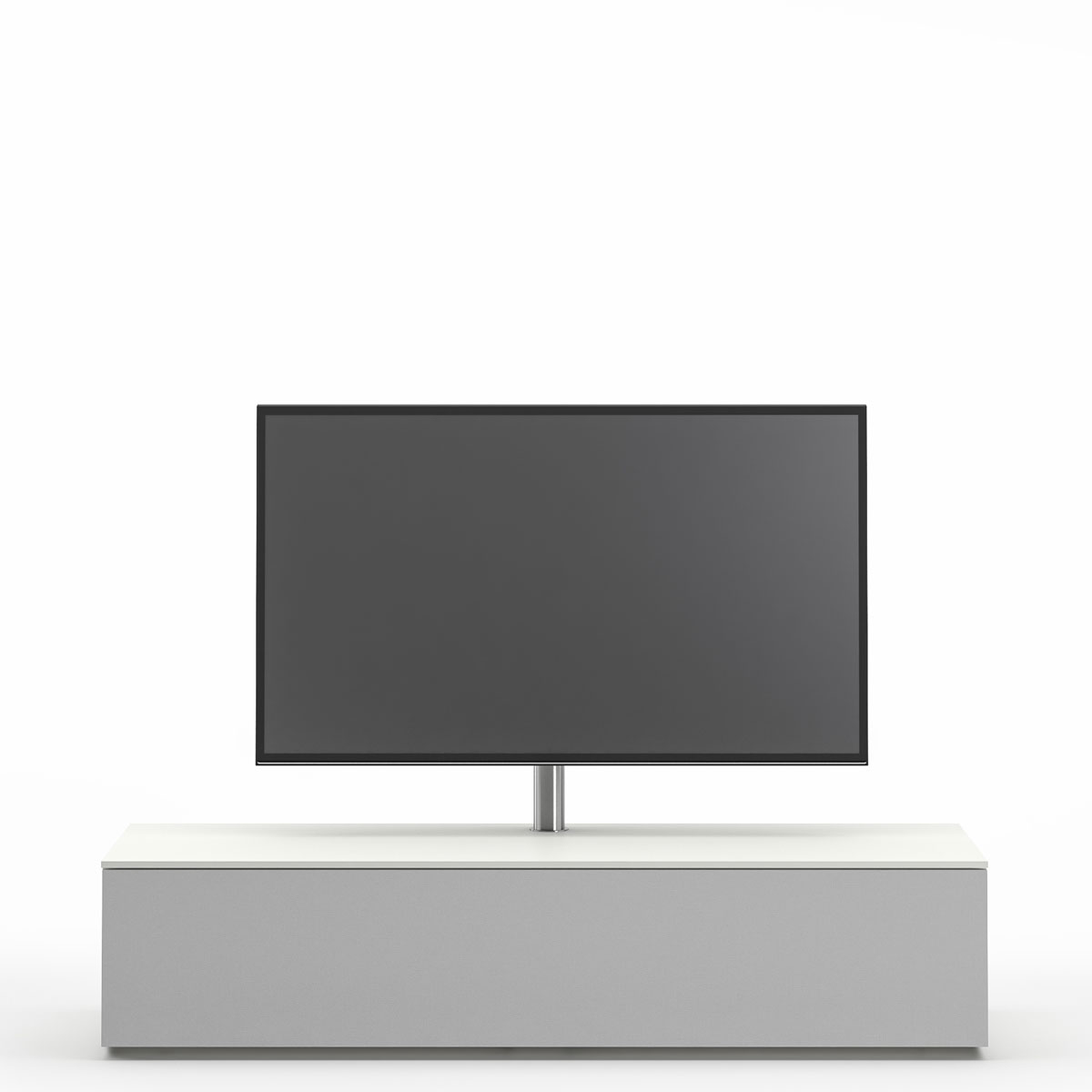 Hifi, TV, Möbel, Soundbar, Phonoschrank mit Klappe, mit Dockingstation, mit smart charge Funktion, Akustikstoff bespannte Front, mit Drehhalterung für Ihren Fernseher, Spectral, Next, Sideboard, Audio, Media,