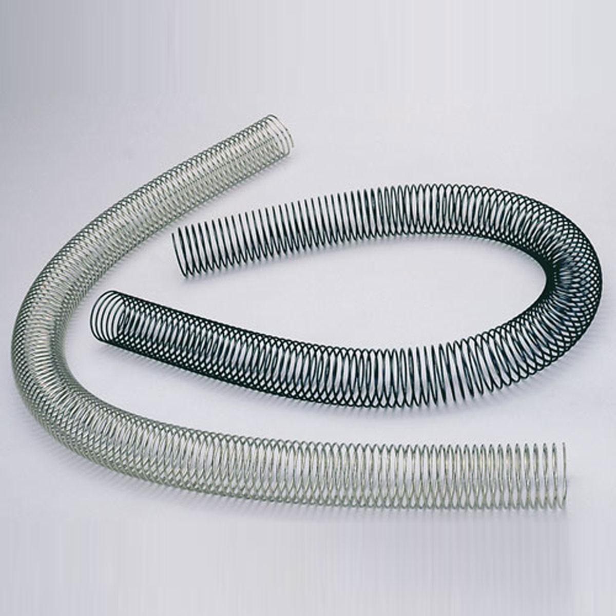 Verchromte Kabelspirale aus Federstahl zur unterbringung ihrer Kabel bei ihrem Hifi TV Möbel.