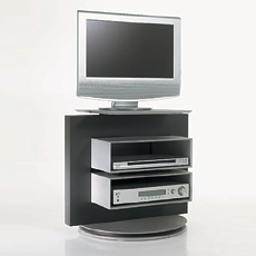 tv rack drehbar fernsehm bel. Black Bedroom Furniture Sets. Home Design Ideas