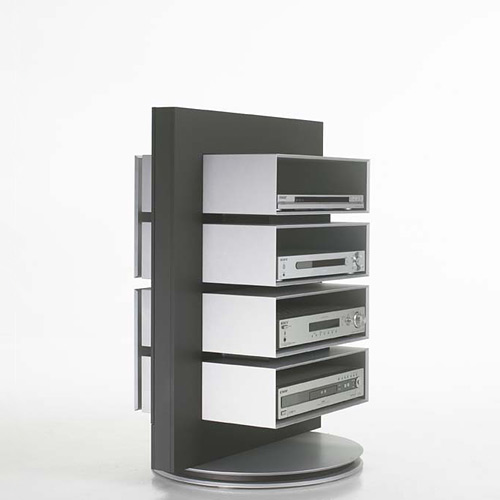 Tv rack drehbar  Luke Furniture VE-04 - Hifi Regal drehbar bei hifi-tv-moebel.de