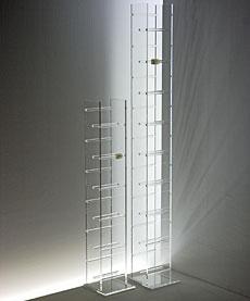 acryl de cd dvd turm aus acryl bei hifi tv. Black Bedroom Furniture Sets. Home Design Ideas