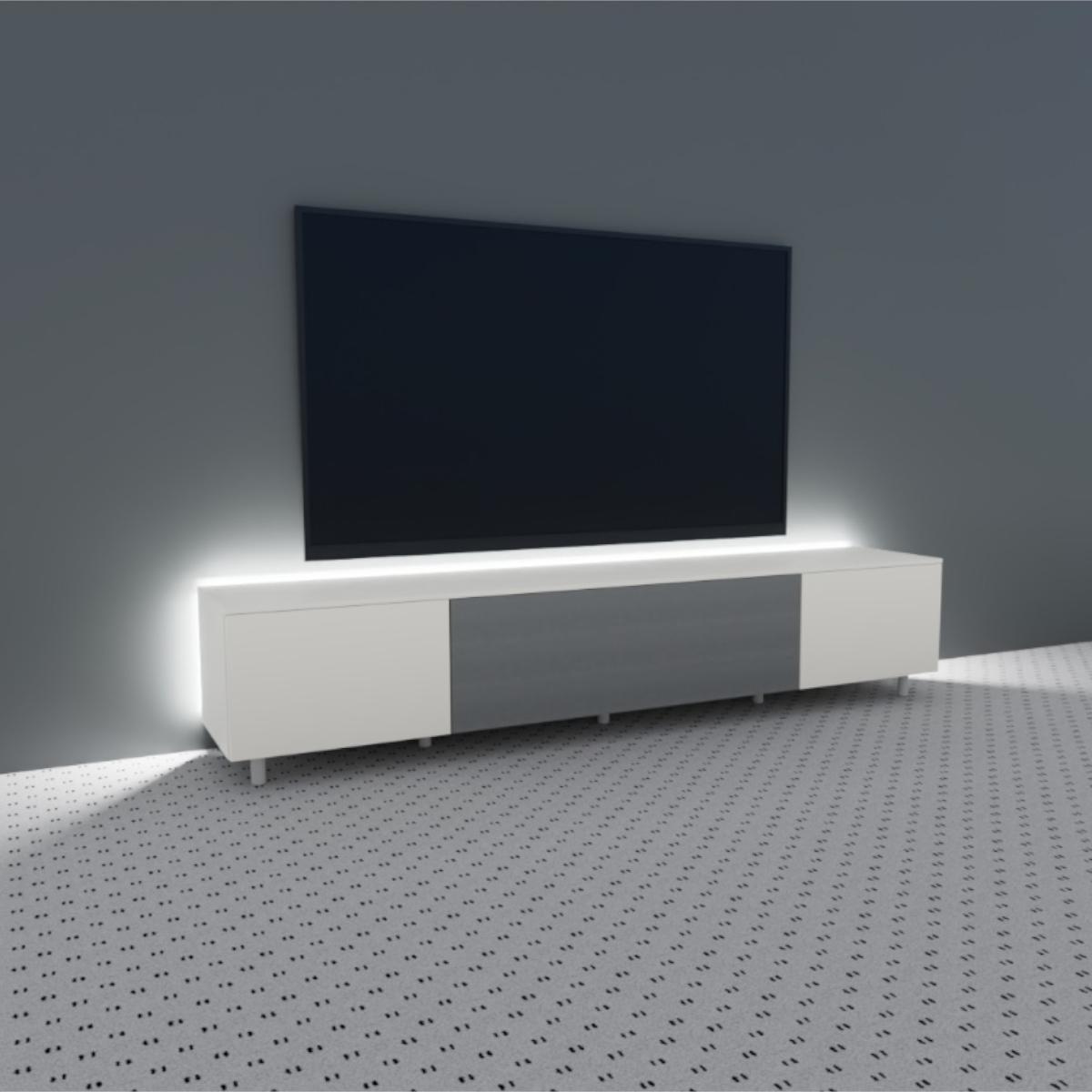 Ein TV Lowboard. Ausstellungsstück. Serie Next von Spectral.