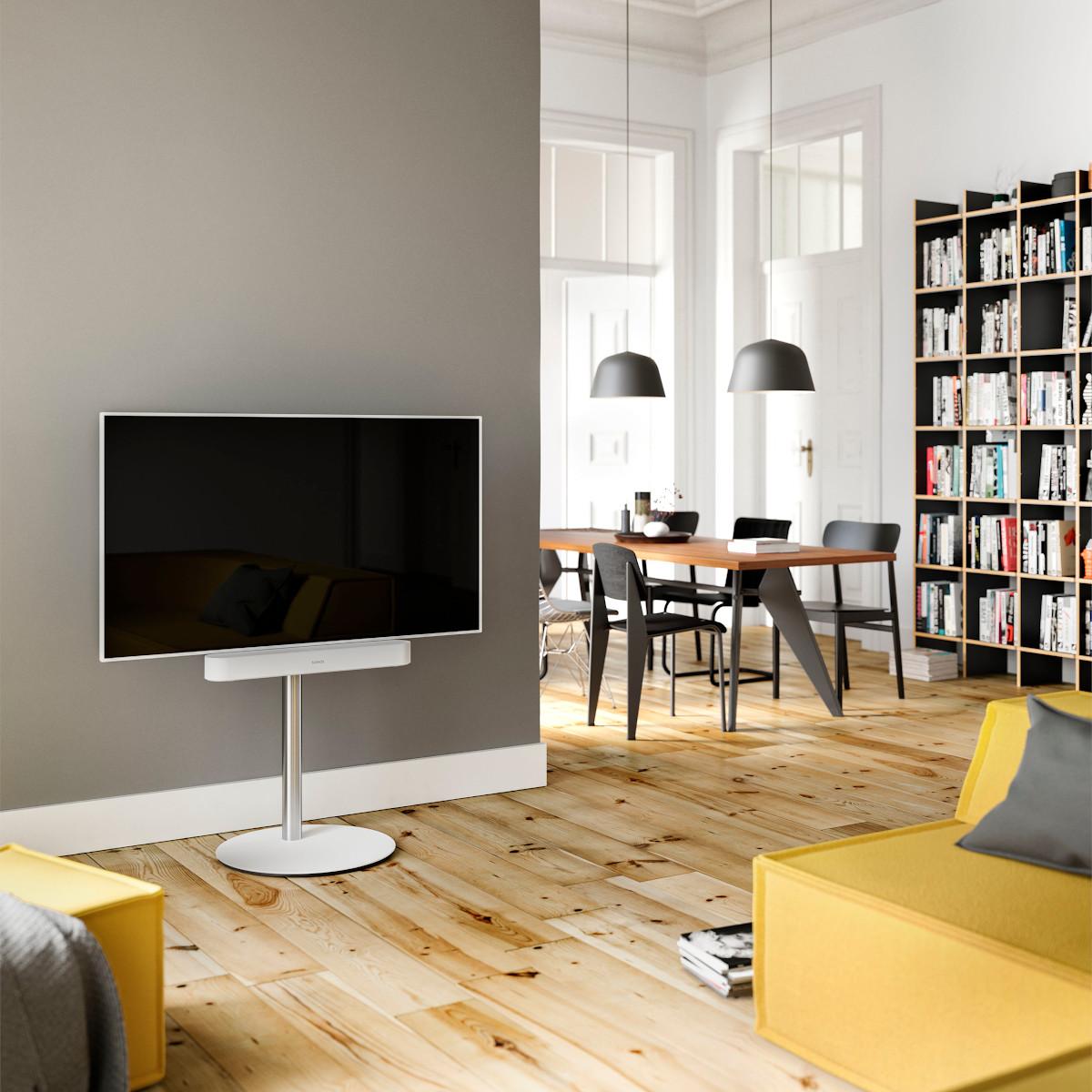 TV Rack, TV Möbel, Fernsehhalter, drehbarer TV Halter, TV Board, Hifi TV Rack, Wandmontage, Hifi Fernsehregal, Spectral.
